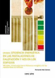 UF0565 EFICIENCIA ENERGÉTICA EN LAS INSTALACIONES DE CALEFACCIÓN Y ACS EN LOS EDIFICIOS
