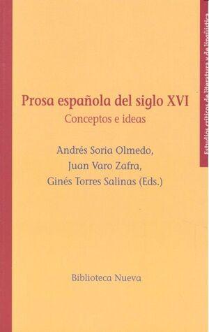 PROSA ESPAÑOLA DEL SIGLO XVI