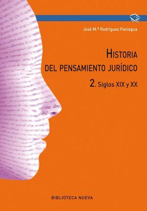 HISTORIA DEL PENSAMIENTO JURÍDICO II