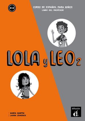LOLA Y LEO 2 LIBRO DEL PROFESOR