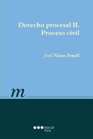 DERECHO PROCESAL II