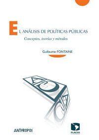 EL ANÁLISIS DE POLTICAS PÚBLICAS CONCEPTOS, TEORAS Y MÉTODOS