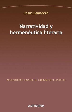NARRATIVIDAD Y HERMENEUTICA LITERARIA