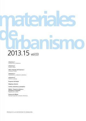 MATERIALES DE URBANISMO 2013-2015. VOL. 3