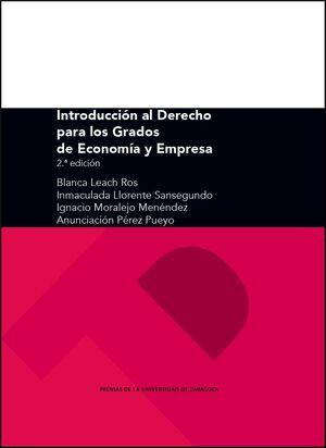 INTRODUCCIÓN AL DERECHO PARA LOS GRADOS DE ECONOMÍA Y EMPRESA (2ª EDICIÓN)