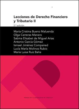 LECCIONES DE DERECHO FINANCIERO Y TRIBUTARIO II (2ª ED.)