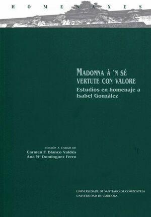 MADONNA À 'N SÉ VERTUTE CON VALORE