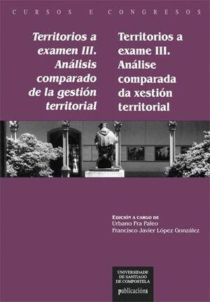 TERRITORIOS A EXAMEN III / TERRITORIOS A EXAME III
