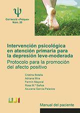 INTERVENCIÓN PSICOLÓGICA EN ATENCIÓN PRIMARIA PARA LA DEPRESIÓN LEVE-MODERADA