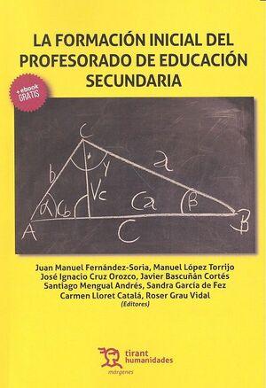 LA FORMACIÓN INICIAL DEL PROFESORADO DE EDUCACIÓN SECUNDARIA