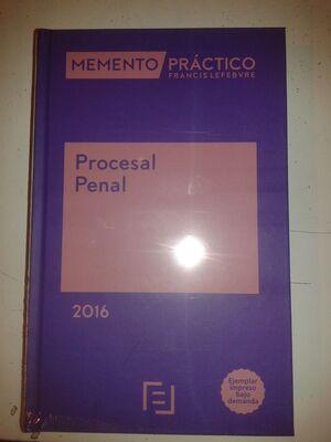 MEMENTO PRÁCTICO PROCESAL PENAL 2016. POD