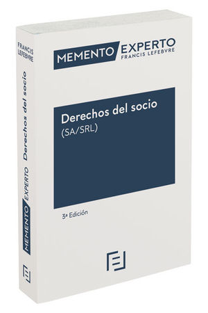 MEMENTO EXPERTO DERECHOS DEL SOCIO ( SA/SRL )