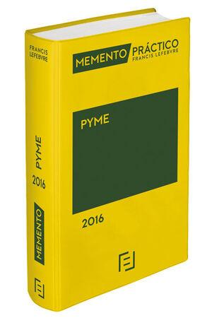 MEMENTO PRÁCTICO PYME 2016