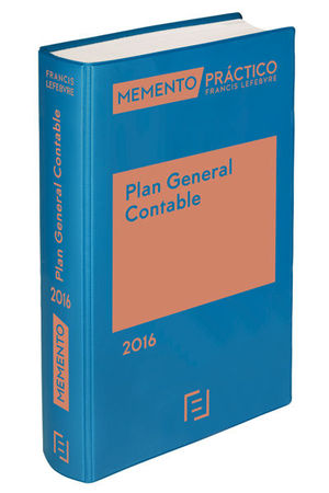 MEMENTO PRACTICO PLAN GENERAL CONTABLE 2016