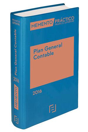 MEMENTO PRACTICO PLAN GENERAL CONTABLE 2016 + BASE JURIDICA INTERNET