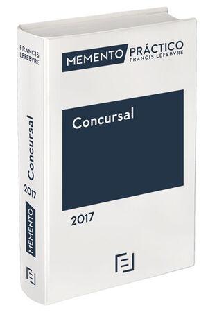 MEMENTO PRÁCTICO CONCURSAL 2017
