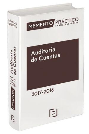 MEMENTO PRÁCTICO AUDITORÍA DE CUENTAS