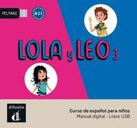 LOLA Y LEO 3 LLAVE USB