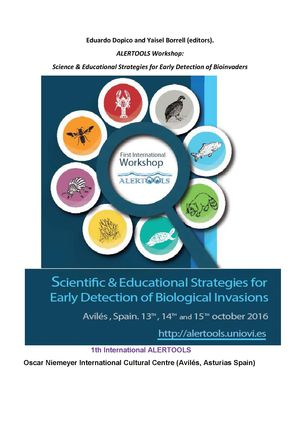 ALERTOOLS WORKSHOP: SCIENCE & EDUCATIONAL STRATEGIES FOR EARLY DETECTION OF BIOINVADERS