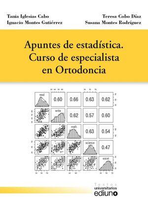 APUNTES DE ESTADÍSTICA. CURSO DE ESPECIALISTA EN ORTODONCIA