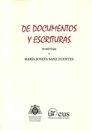 DE DOCUMENTOS Y ESCRITURAS