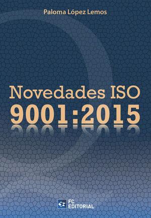 NOVEDADES ISO 9001:2015