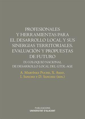 PROFESIONALES Y HERRAMIENTAS PARA EL DESARROLLO LOCAL Y SUS SINERGIAS TERRITORIALES. EVALUACIÓN Y PROPUESTAS DE FUTURO