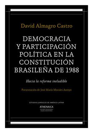 DEMOCRACIA Y PARTICIPACIÓN POLÍTICA EN LA CONSTITUCIÓN BRASILEÑA DE 1988