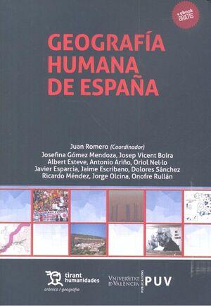 GEOGRAFÍA HUMANA DE ESPAÑA CURSO DE INTRODUCCIÓN