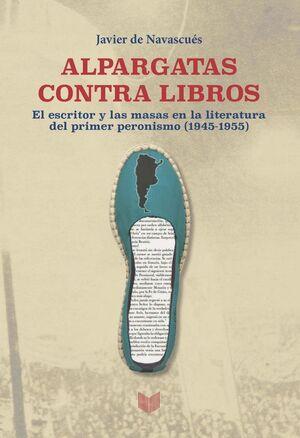 ALPARGATAS CONTRA LIBROS