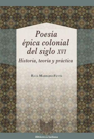 POESÍA ÉPICA COLONIAL DEL SIGLO XVI