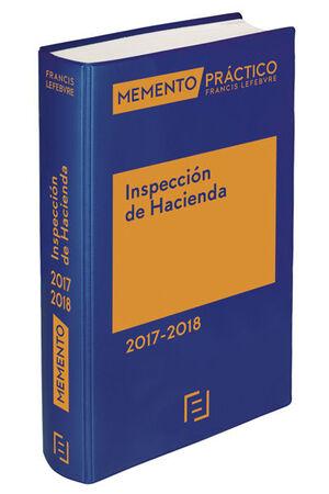 MEMENTO PRÁCTICO INSPECCIÓN DE HACIENDA 2017-2018