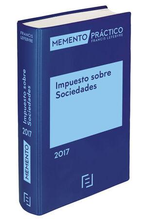 MEMENTO IMPUESTO SOBRE SOCIEDADES 2017