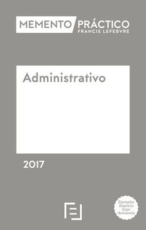 MEMENTO ADMINISTRATIVO 2017 POD