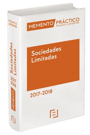 MEMENTO SOCIEDADES LIMITADAS 2017-2018