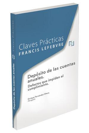 CLAVES PR�CTICAS DEP�SITO DE LAS CUENTAS ANUALES
