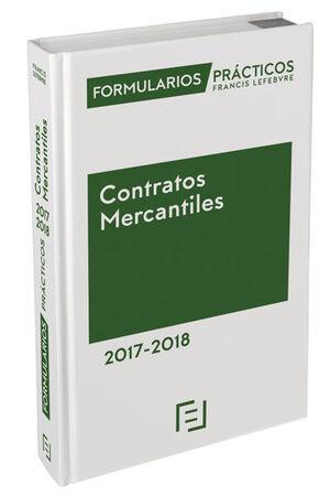FORMULARIOS PRÁCTICOS CONTRATOS MERCANTILES 2017-2018
