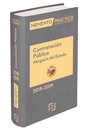 MEMENTO CONTRATACI�N P�BLICA (ABOGAC�A DEL ESTADO) 2018-2019