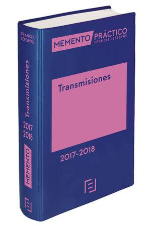 MEMENTO TRANSMISIONES 2017-2018 (ED. NOTARIOS)