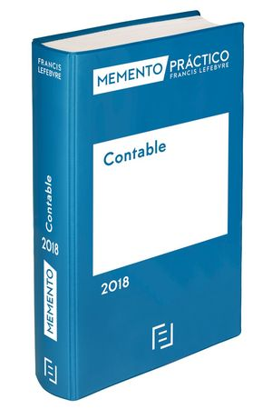 MEMENTO CONTABLE 2018