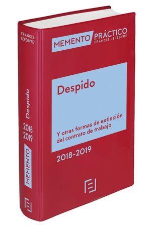 MEMENTO DESPIDO 2018-2019