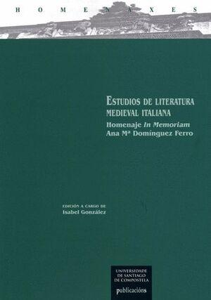 ESTUDIOS DE LITERATURA MEDIEVAL ITALIANA