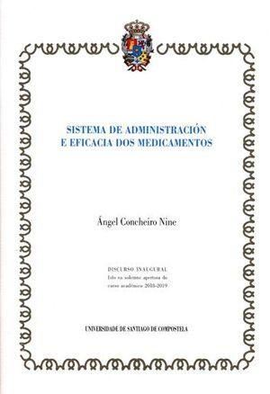 SISTEMA DE ADMINISTRACIÓN E EFICACIA DOS MEDICAMENTOS