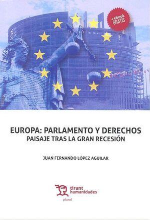 EUROPA: PARLAMENTO Y DERECHOS PAISAJE TRAS LA GRAN RECESIÓN.