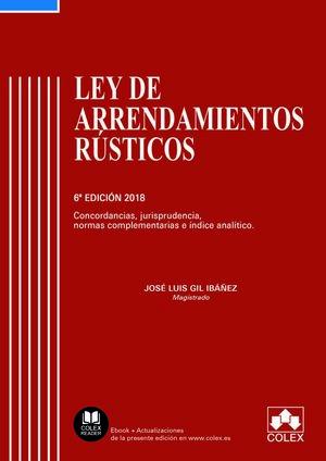 LEY DE ARRENDAMIENTOS RÚSTICOS