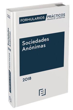 FORMULARIOS PRÁCTICOS SOCIEDADES ANÓNIMAS 2018