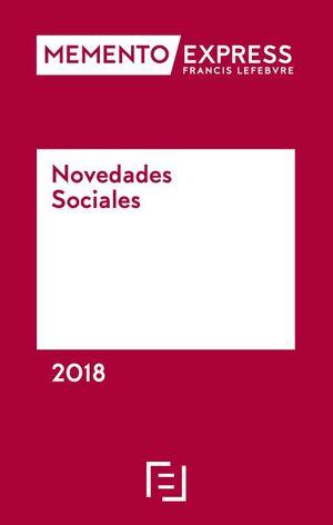MEMENTO EXPRESS NOVEDADES SOCIALES 2018