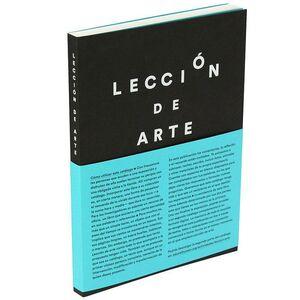 LECCIÓN DE ARTE