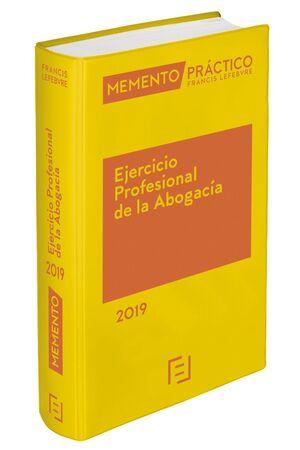 MEMENTO EJERCICIO PROFESIONAL DE LA ABOGACÍA 2019