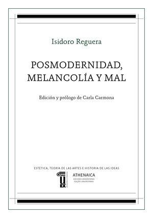 POSMODERNIDAD, MELANCOLÍA Y MAL